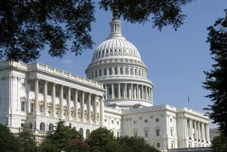 The Capitol, located in Washington, DC, is the building in which the United States Congress meets.