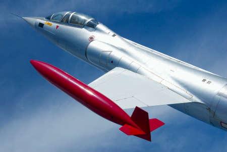 A single-engine, high-performance, supersonic interceptor aircraft.