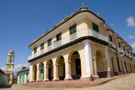 The Romantico museum in the central square of Trinidad, Cuba.