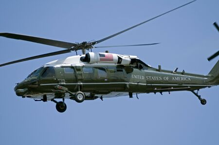 A helicopter as used by the US President, when it is referred to as Marine One. Stock Photo - 5513337