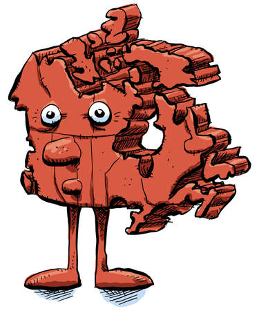 Cartoon Canada. photo