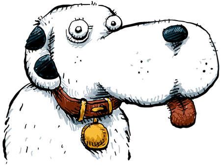 Freundliche Cartoon-Hund Standard-Bild - 9449150