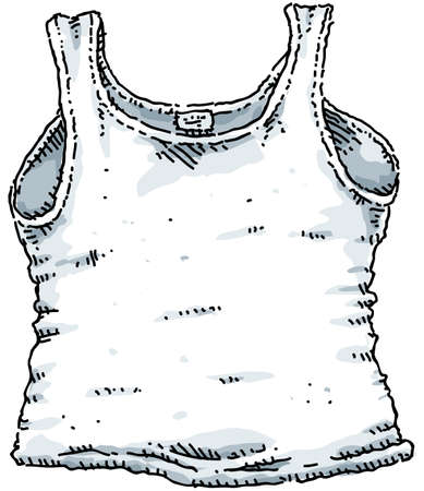A cartoon cotton undershirt.