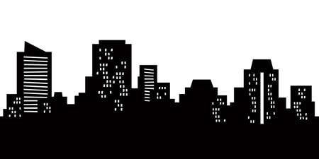 wellington: Cartoon skyline silhouette of the city of Wellington, New Zealand