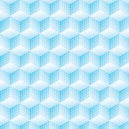 grid: A cube grid pattern backdrop