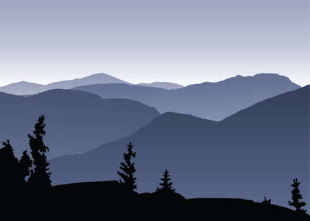 レイク プラシッド、ニューヨークの近くのアディロンダック山地全体を表示します。