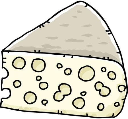 holes: Cartoon slab of Swiss cheese, full of holes.