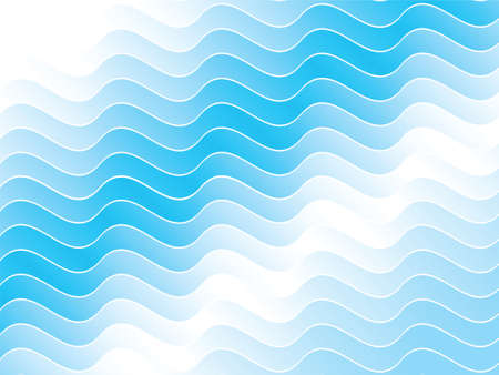 A wave pattern backdrop.