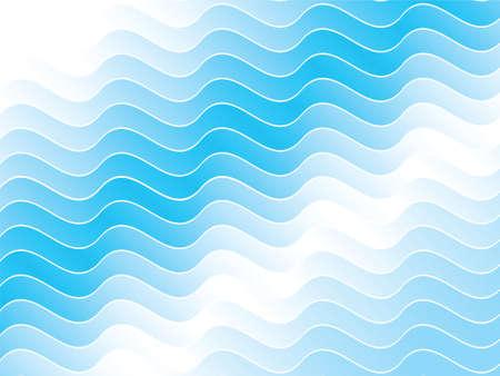 Een golfpatroon achtergrond. Stock Illustratie
