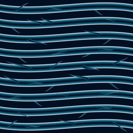 顕微鏡のレベルで繊維を織りのイラスト。  イラスト・ベクター素材