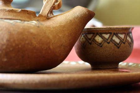 A set of tea brewing photo