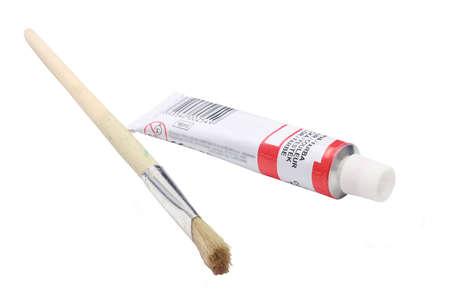 casein: Tubo de pintura con l�piz