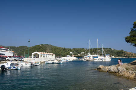 skiathos: Skiathos harbor