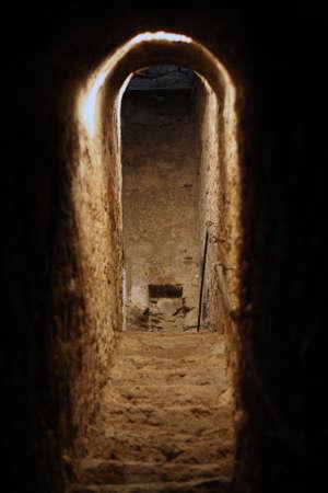 Secret tunnel Stock Photo - 5552999