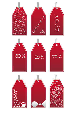 Vector illustration of price tag  Illustration