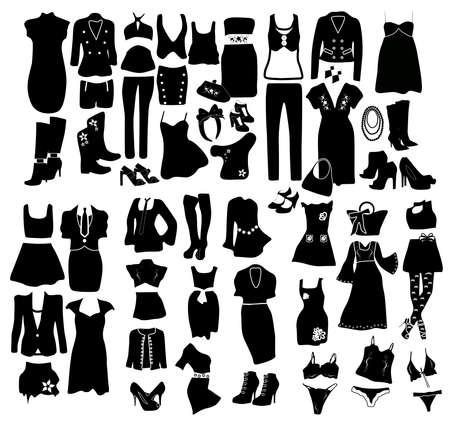 intimately: Fashion elements  Illustration