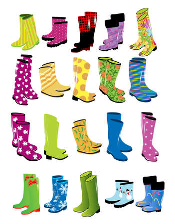 Fashion womens rubber boots