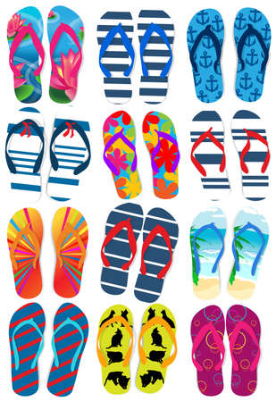 Flip flops Illustration