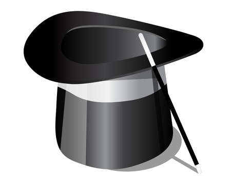 harry: Magic hat and magic wand