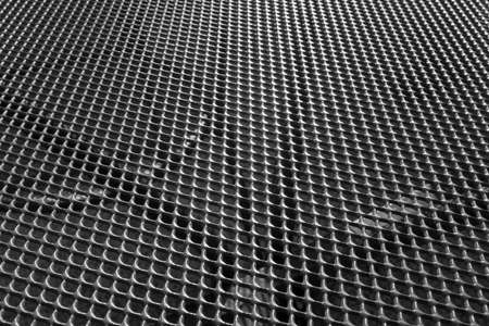 Abstract textured background of metal grill