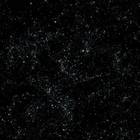 Seamless pattern tile of outer space or galaxy