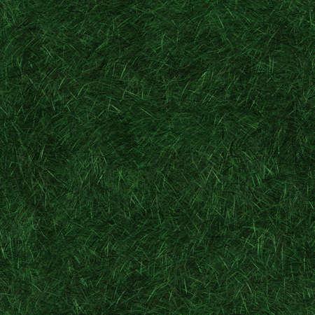 Seamless pattern tile of long dark green grass