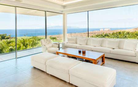 Luxury villa interior Stockfoto