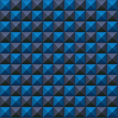 volumetric: Textura volum�trica de cubos de color azul y gris