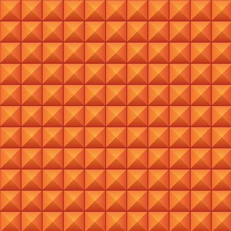 volumetric: Textura volum�trica de cubos de color naranja Vectores