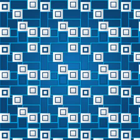 volumetric: Textura de cuadrados blancos volum�tricas