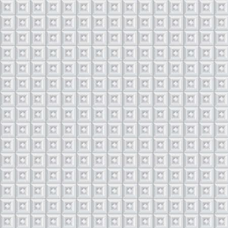 volumetric: Textura volum�trica de cubos blancos