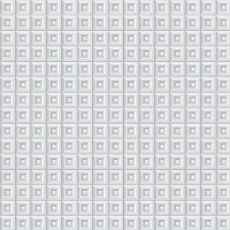 Volumetric pattern of white cubes Stock Vector - 17471075