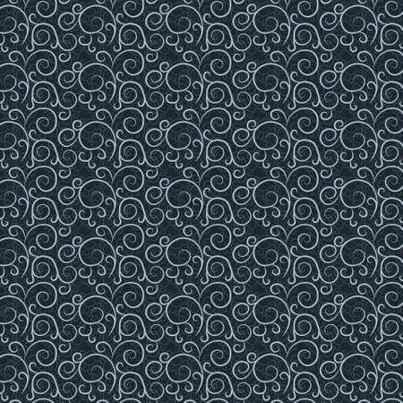 Vintage pattern on a dark gray background Stock Vector - 17471092