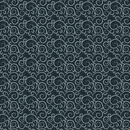 Vintage pattern on a dark gray background Stock Vector - 17471092