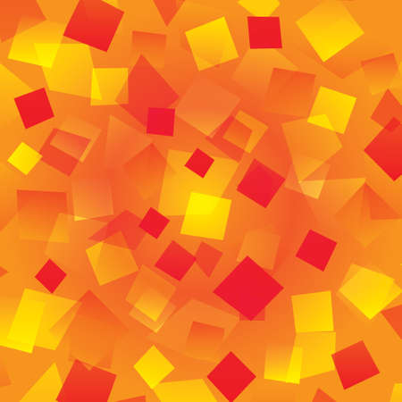 Colorful abstract background with different orange rectangles Stock Vector - 17510895