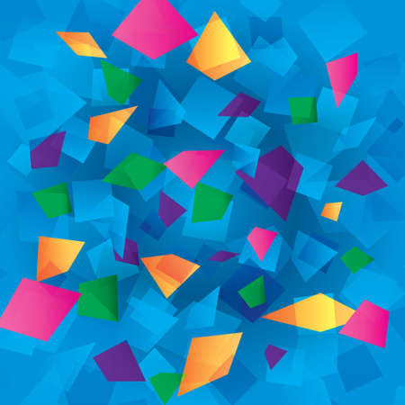 Colorful abstract background with rectangles Stock Photo - 17510883