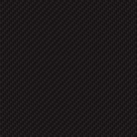 Kohlefaser-Textur. Nahtlose Vektor-Luxus-Textur. Technologie abstrakten Hintergrund. Vektorgrafik