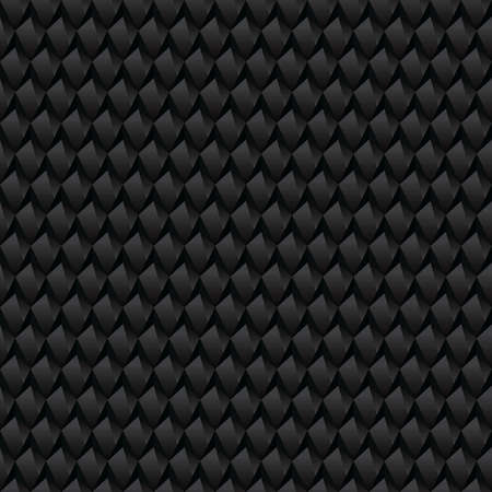 Black abstract texture. Seamless vector luxury texture. Carbon concept texture. Technology abstract background. Illustration