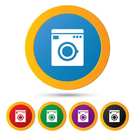 washhouse: Washing machine icons