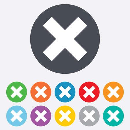 negar: Eliminar icono de la muestra Vectores