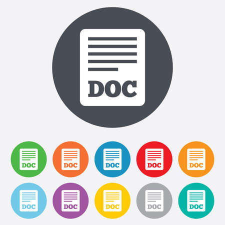 File document icon Vector