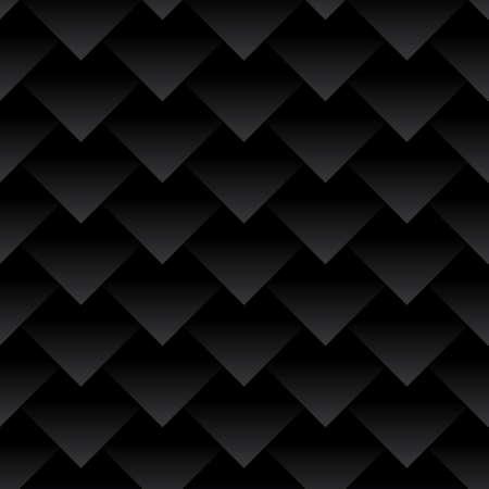 composite material: Carbon fiber triangles background Illustration