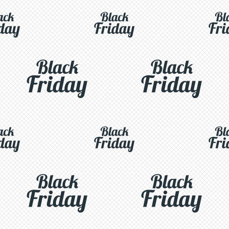Black Friday sale sign icon. Special offer symbol. Seamless grid lines texture. Cells repeating pattern. White texture background. photo