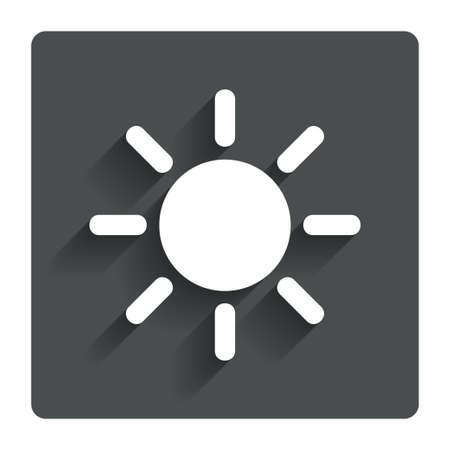 solarium: Sun sign icon.