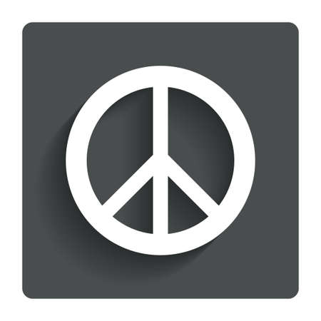 peace stamp: Peace sign icon.