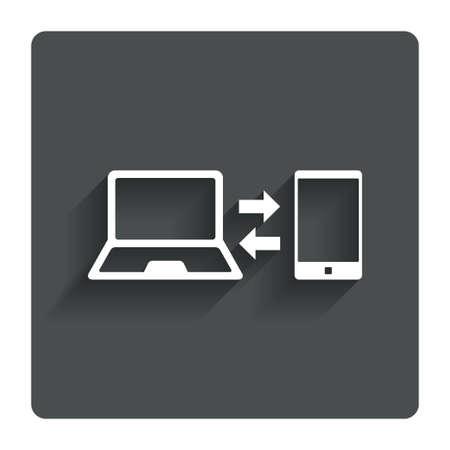synchronization: Synchronization sign icon.
