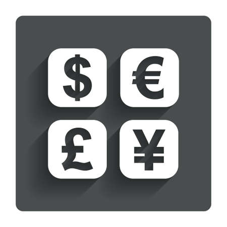 Currency exchange sign icon. photo