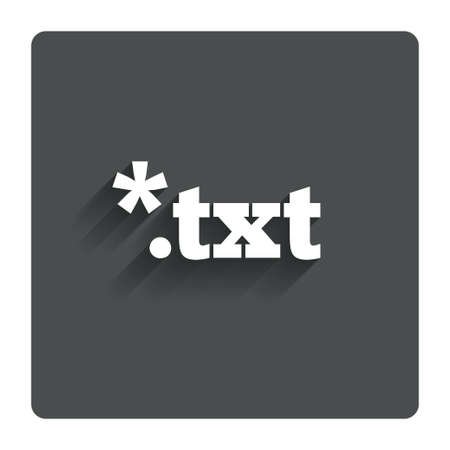 txt: Text file icon Download txt doc button.