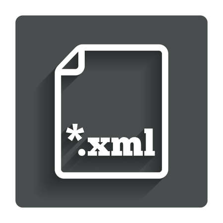 extensible: File document icon.  Illustration