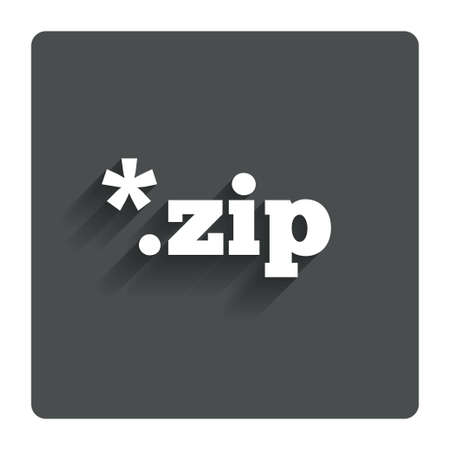 zipped: Archive file icon.